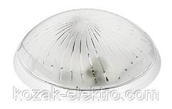 Светильник пластиковый ZAGREP  белый на 2 лампы
