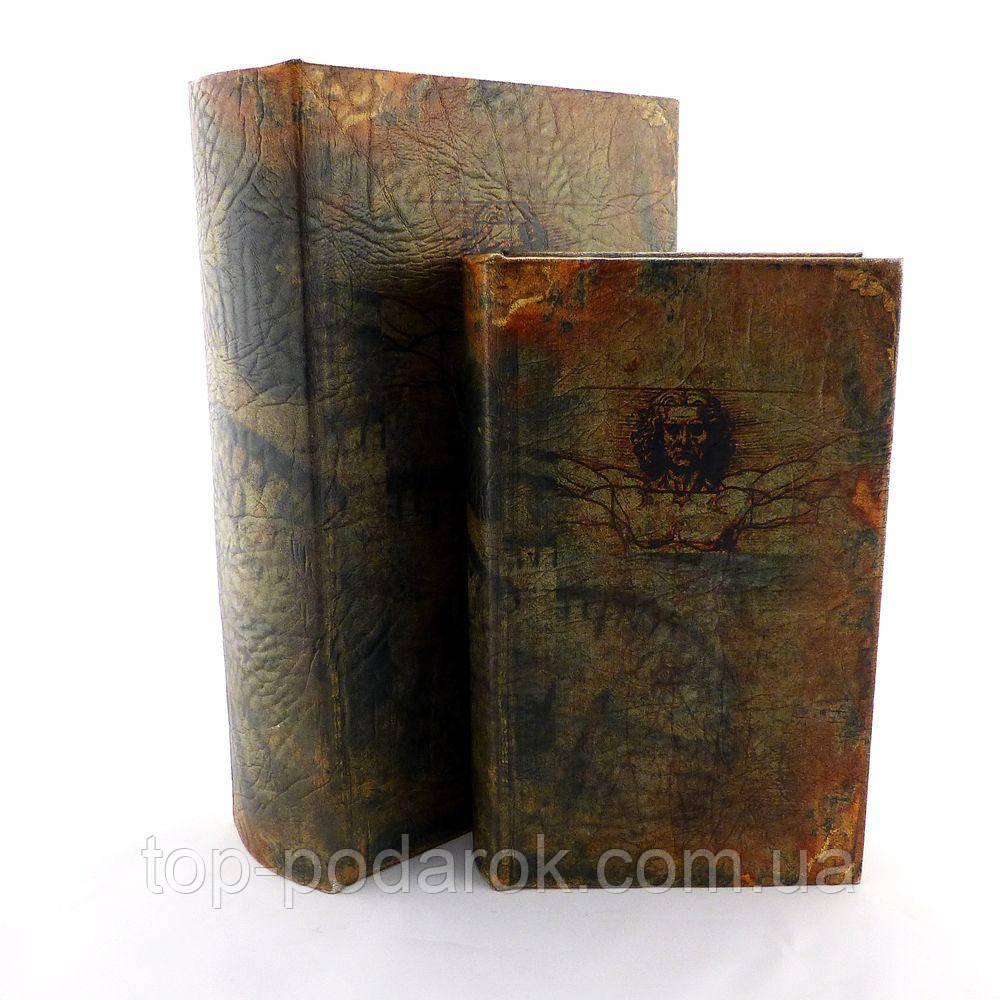 Книга шкатулка набор их 2 штук Леонардо