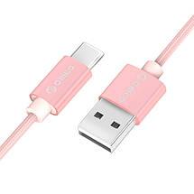 Кабель USB Type-C Orico HTF-10 для зарядки и передачи данных (1м), фото 2