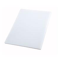 Доска разделочная пластиковая белого цвета 400*300*25 мм