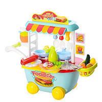 Модная детская игрушка кухня-магазин,  со светом и звуком 889-93-94