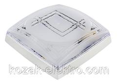 Светильник пластиковый MODERN-1  белый
