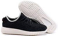 Adidas Yeezy Boost 350 Low Black White | кроссовки женские и мужские летние черно-белые