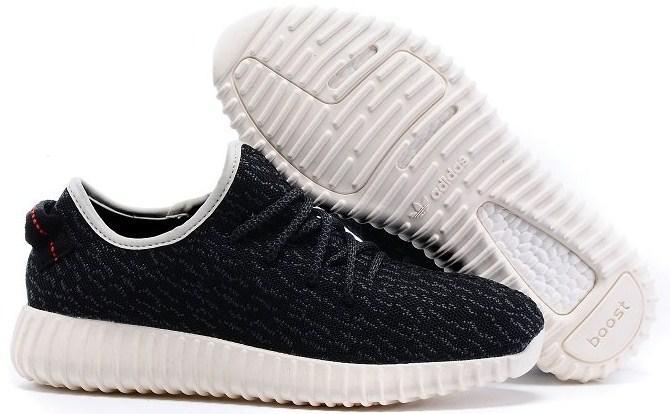 670d99b3 Adidas Yeezy Boost 350 Low Black White   кроссовки женские и мужские летние  черно-белые