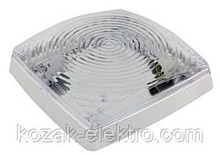 Светильник пластиковый CLASSIC-2  белый на 2 лампы