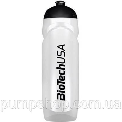 Бутылка для воды Waterbottle BioTech 750 мл белая, фото 2