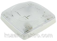 Светильник пластиковый MODERN-2  белый на 2 лампы