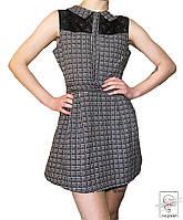 Платье в клеточку Tenki р. S 42-44