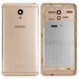 Задняя крышка для Meizu M5 Note (M621) золотистая