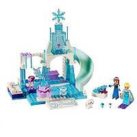 """Конструктор детский """"Волшебный ледяной замок Эльзы"""" Bela 10664 Disney 709 деталей"""
