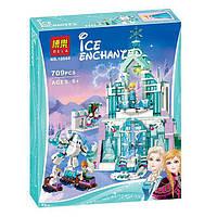 Волшебный ледяной замок Эльзы детский конструктор Bela 10664 Disney
