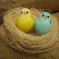 Цыпленок в скорлупе декоративный цветной, фото 1