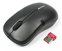 Мышь A4 Tech G3-230 N-1 Black USB WRL, фото 1