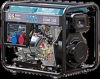Генератор дизельный трехфазный 6 кВт Könner&Söhnen KS 8100HDE-1/3 ATSR