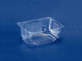 Одноразовый пластиковый контейнер для продуктов, ПС-182, 150мл, без крышки