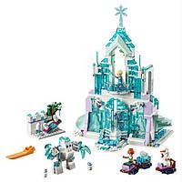 """Игрушка Конструктор для девочек """"Волшебный ледяной замок Эльзы"""" Bela 10664 Disney"""