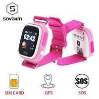 ОРИГИНАЛЬНЫЕ Smart Baby Watch Q90 Pink