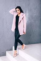 TM Ozze Женское весеннее пальто из кашемира Д 262 цвет розовый