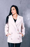 TM Ozze Женское весеннее пальто из кашемира Д 262 цвет молоко