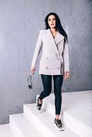TM Ozze Женское весеннее пальто из кашемира Д 262 цвет бежевый