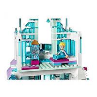 Волшебный ледяной замок Эльзы конструктор для детей Bela 10664 Disney (709 деталей)