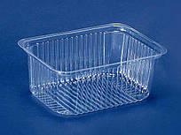 Одноразовая упаковка для продуктов, контейнер ПС-160 (V500мл/143*103*58), 50шт\пач