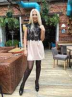 Платье с французским кружевом!!!