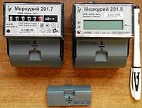 Простые и надежные, компактные и доступные 1-фазные счетчики электроэнергии Меркурий 201.7 и Меркурий 201.8