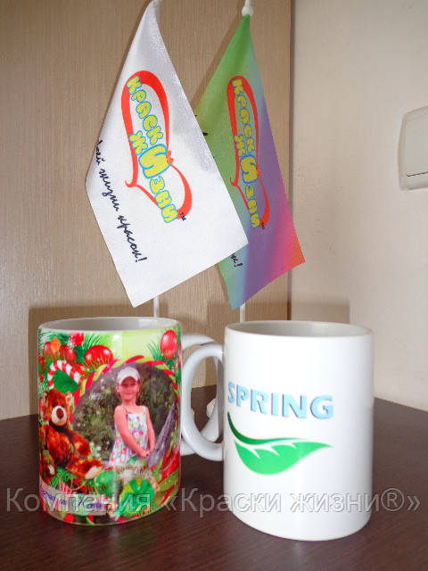 Печать на чашках - Компания «Краски жизни®» в Харькове