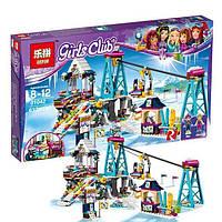 """Необычный конструктор Lepin 01042 """"Горнолыжный курорт: подъёмник"""" (аналог LEGO Friends 41324)"""