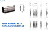 Труба ПВХ 75х2 м.(толщ.2.5мм)