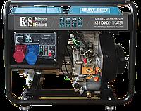 Генератор дизельный трехфазный 7 кВт Könner&Söhnen KS 9100HDE-1/3 ATSR