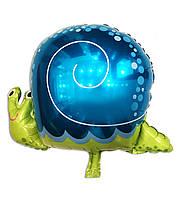 Фольгированный шар Улитка большая 62 х 48 см.