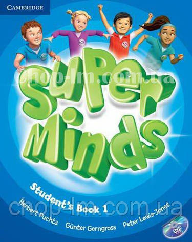 Super Minds 1 Student's Book with DVD-ROM / Учебник, фото 2