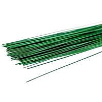 Проволока для цветов 2 мм, зеленая