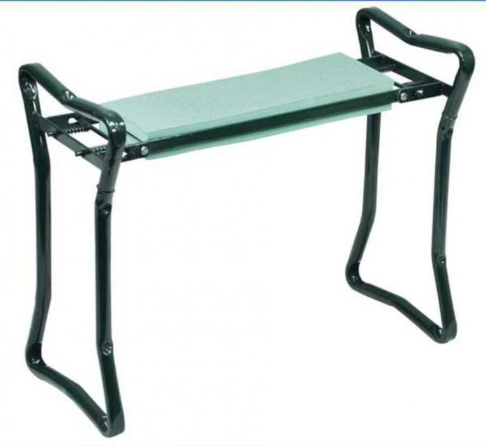 Скамейка подставка для дачи - скамейка садовая