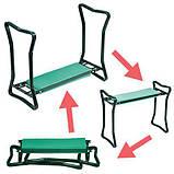 Скамейка подставка для дачи - скамейка садовая, фото 3