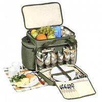 """Набор для пикника Ranger """"Скаут"""" (посуда на 6 персон + сумка с термо-отсеком)"""
