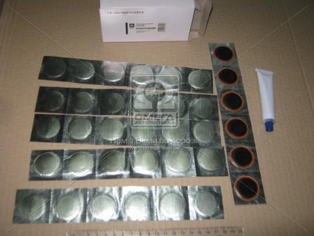 Латка для ремонта камер № 1 d 30мм 36шт + клей СP-202 ДК 48391034070