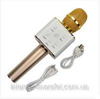 Мікрофон Караоке з вбудованим динаміком Q7 (Бездротовий / Bluetooth)