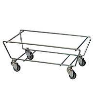 Б/у Подставка для корзин на колесах Р2, мобильная подставка-накопитель