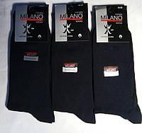 Носки мужские MILANO Турция Цвет  черный  Размер 40-45