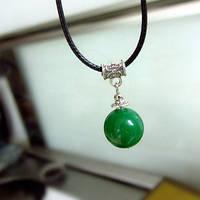 Подвеска ожерелье Зеленая