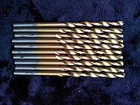 Сверло по металлу с титановым напылением диаметр 3,0 мм.