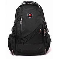 Рюкзак ортопедический молодежный Swissgear 8815 черный