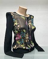 Кофта в стиле Moschino женская на застежке, фото 1
