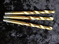 Сверло по металлу с титановым напылением диаметр 8,8