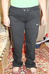 Спортивные штаны FORE баталы (зимний трикотаж-байка)