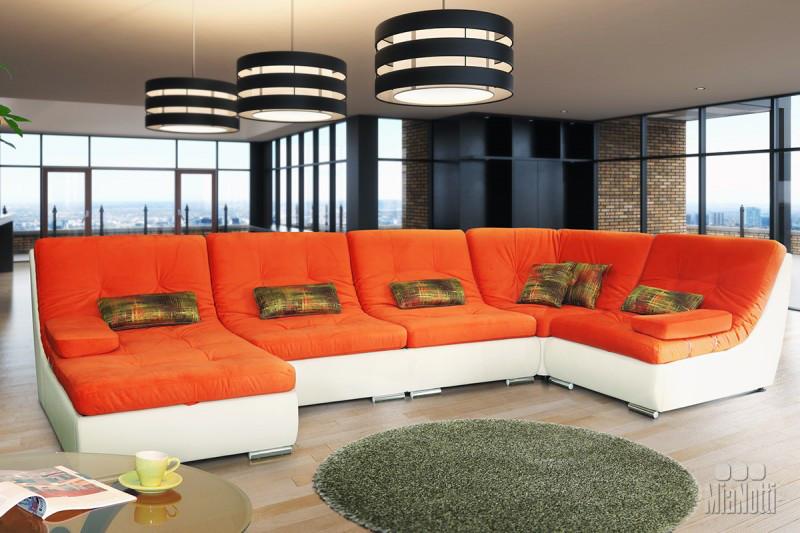 Модульный угловой диван Эко Бозен 5 ( 341 *190 см )