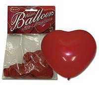 Воздушные шары в форме сердца Herzluftballon, 6 шт.